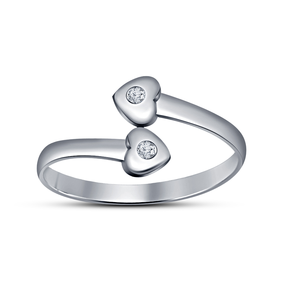 925 sterling silver solid platinum plated plain